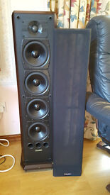 Pair of Mission 753 floorstanding speakers in VG+ condition.