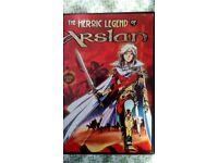 Rare manga dvds,heroic legend of arislan and rg Veda