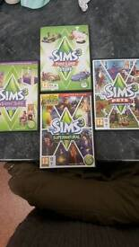 Sims 3 set expansions and stuff