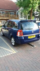 Vauxhall Zafira. SRI. LOW MILEAGE. FSH.