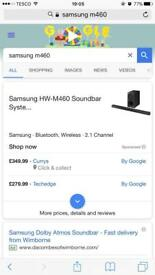Samsung HW-M460 soundbar