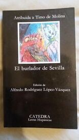 Collection of Spanish novels