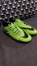 Nike Hypervenom Football Boots size 7