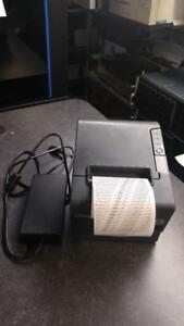 Epson TM-T88IV POS Thermal Printer (SERIAL INTERFACE) M129H with power supply