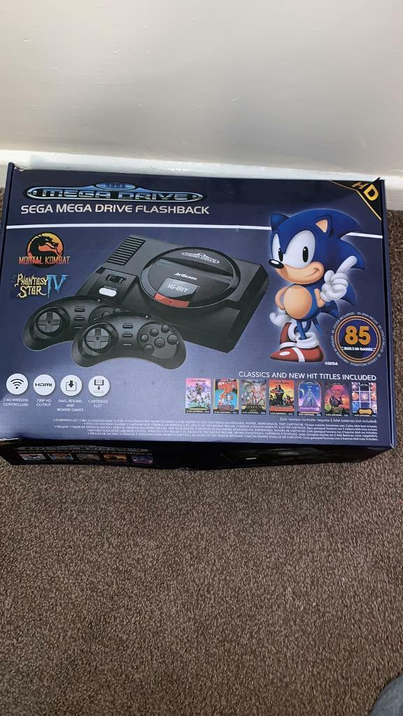 Sega mega drive 85 game built in comsole | in Weston-super-Mare, Somerset |  Gumtree