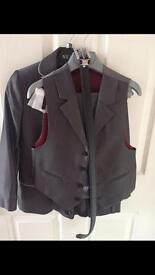 Boys grey 3 piece suit suitable for wedding / communion / occasion