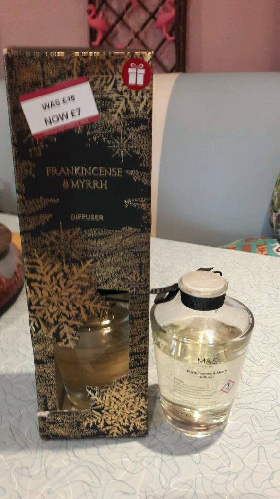 Frankincense and myrrh diffuser set