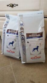 2x bags 2,5kg Royal Canin Gastro Intestinal Junior