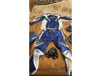Motocross clothes helmet fox yamaha moto x boots cheap