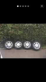 "4 x 108 15"" Ford Fiesta zetec s wheels"
