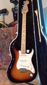 USA Fender Strat + Extras