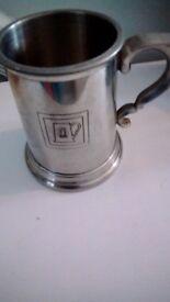 Pewter mug small size sheffield made