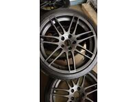"AUDI 19"" ALLOY WHEELS WITH TYRES"