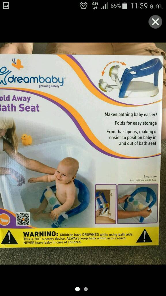 Baby bath seat | in Tonbridge, Kent | Gumtree