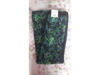 Topshop Leaf Print Trousers – BRAND NEW