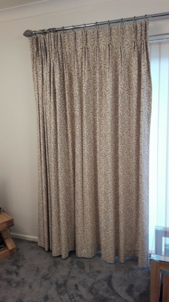 Lovely Curtains In Exc Condition To Fit A Wide Window In Cyncoed