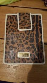 River island Apple iPad case animal print