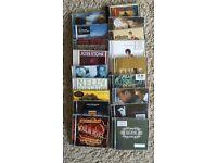 CD Bundle - 18 CD Albums - Various rock and pop