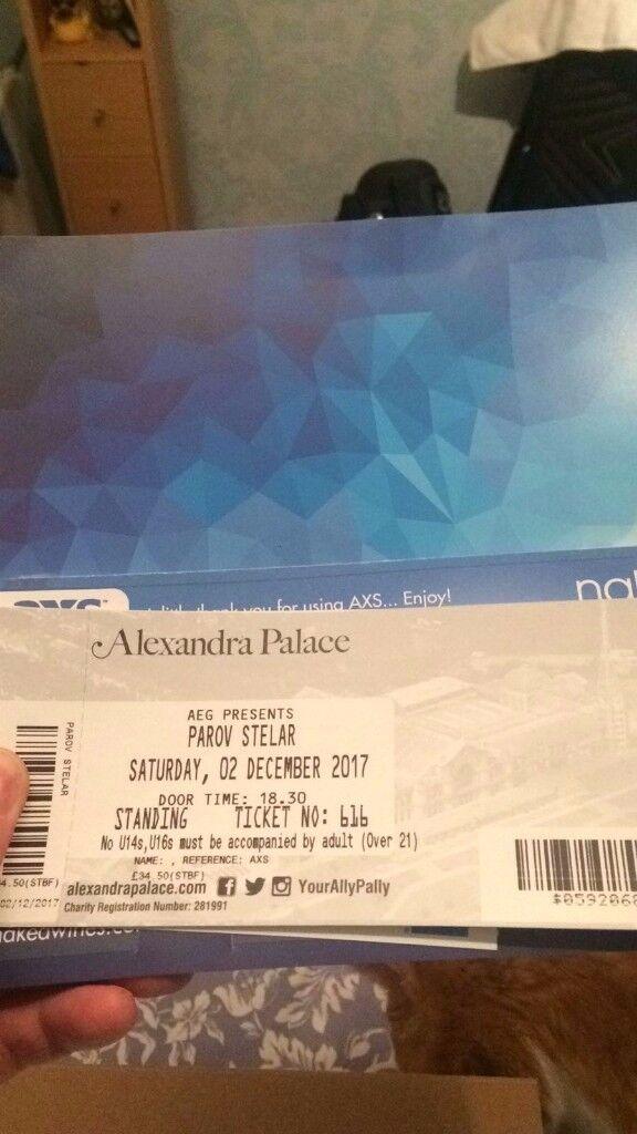 4x Parov Stelar tickets - Alexandra Palace - Dec 2nd