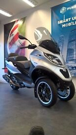 2016 Piaggio MP3 500 Sport Scooter 3 wheel Trike ABS - 166 miles only - CAR LICENCE