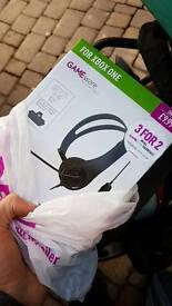 Xbox one headset and 3months gold