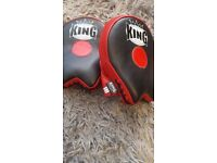 King focus mitts for Muay Thai or Boxing