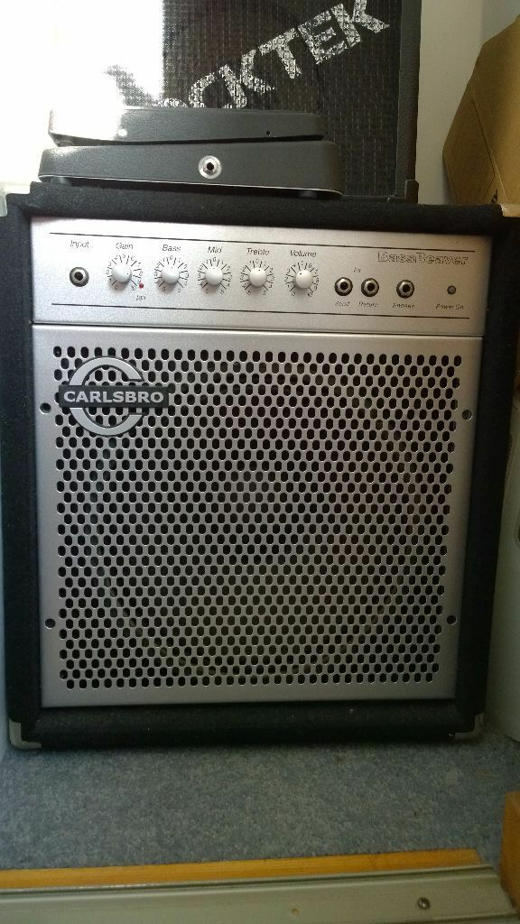 carlsbro bass beaver amplifier 55w in banbury oxfordshire gumtree. Black Bedroom Furniture Sets. Home Design Ideas