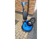 "Victor Airflow Vacuum, 17"" High Speed 300 RPM, Floor Cleaner / Polisher / Buffer"