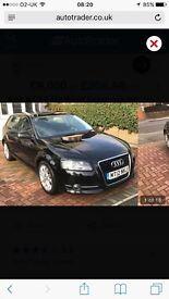 For sale Audi A3 TDI sport sportback 2.0 black o