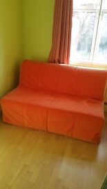 2 seater sofa bed in perfect condition