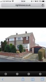 3 Bed Semi Detached, Fully Furnished House for Rent - From 1st May 2018