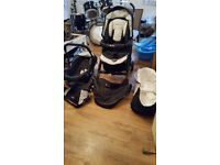 Newborn to 9-12 months clothes next to me crib pushchair walker jumperoo car seat and more