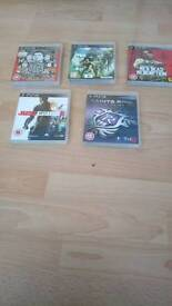Play station, 3 games
