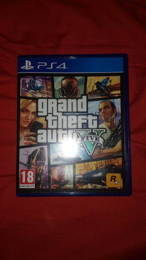 Grand theft auto 5 (Gta V) for ps4