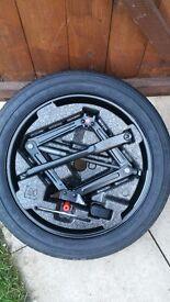 Genuine Vauxhall Mokka 16 Inch Space Saver Spare Wheel & Tyre & Tool Kit.