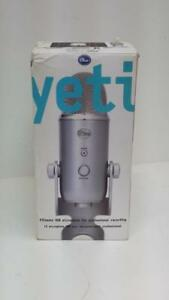 Blue Yeti USB Microphone. We Sell Used Audio Equipment. (#106282) AT818456