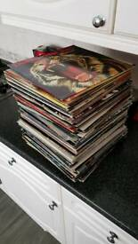 Vinyl lot 80s 90s pop rock
