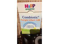 Hipp organic hungry baby