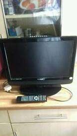 TECHNIKA 19 INCH TV + WALLSTAND