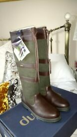 Dubarry Galway Gortex boots size 39 brand new in box