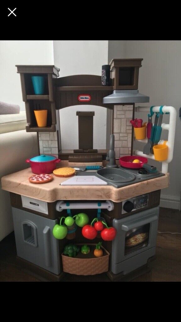 Reduced For Quick Sale Little Tikes Cook N Learn Smart Kitchen Like New In Mansfield Nottinghamshire Gumtree
