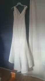 Size 12 D'Zage wedding dress