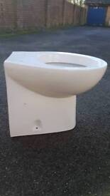 New Wickes Sara back to wall toilet