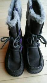 Girls brand new geox winter boots
