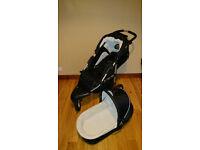 Kidzmotion three wheeler 2in1 pram/stroller