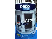 For Sale - Masonry Paint - Country Cream 12 5ltr tubs