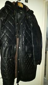 BARGAIN, MENS XXL REAL LEATHER COAT, ONLY 30 POUNDS