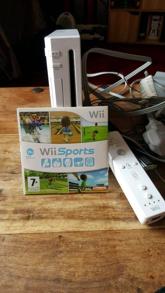 For salein Restalrig, EdinburghGumtree - Comes with all cables 1 controller and wii sports