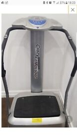 Crazy fit massage vibrating exercise machine