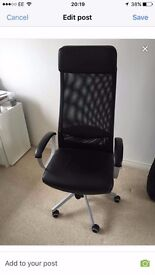 Ikea MARKUS Office Chair £50ovno